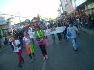 Marcha en el Día de la Alimentación