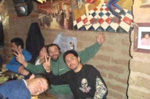 K bezon, Gallina y Staff de los Chancho en el Pala