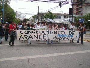 Marcha Estudiantes U. Bio Bio